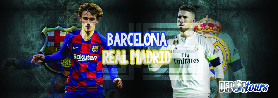 Paquete FC Barcelona vs Real Madrid