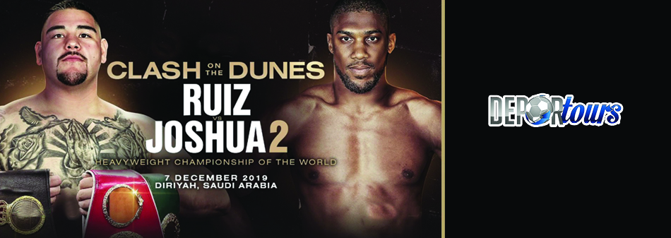 Paquete Pelea Andy Ruiz vs Joshua II