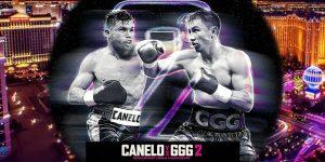Paquete Canelo vs Golovkin 2